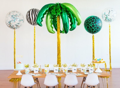 Into The Wild: How To Create The Ultimate Kids Jungle Party