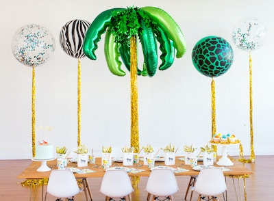 INTO THE WILD: HOW TO CREATE THE ULTIMATE KID'S JUNGLE PARTY