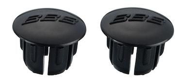 BBB End Caps Black 2Pcs