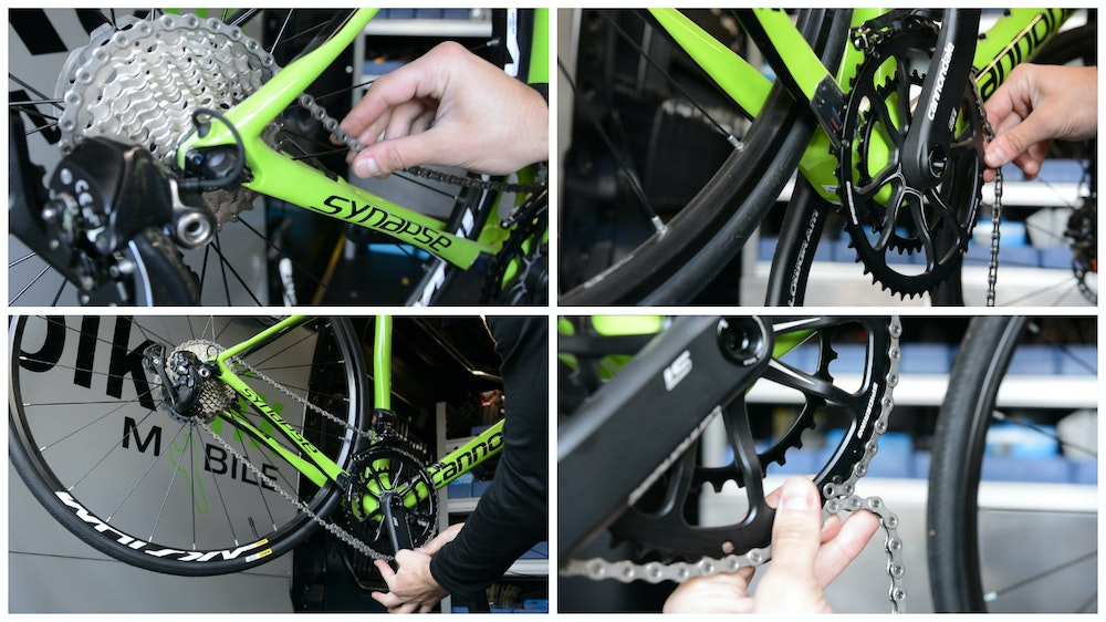 How to Fit and Change a Chain BikeExchange 2017 new chain
