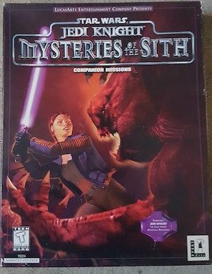 Big Box PC - Star Wars Jedi Knight : Mysteries of the Sith Companion missions (Rare)