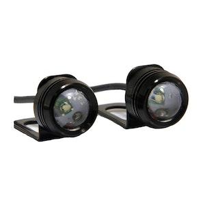 Super Bright Amber CREE LED Mirror Mount Pair Indicators