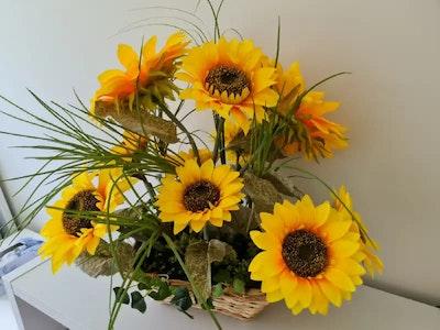 Fatima Rasoli Sunflower basket