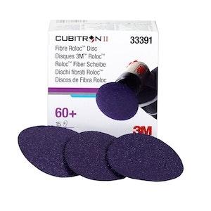 Cubitron II Fibre Roloc Disc 33391 in 75mm 60grit, 15 discs