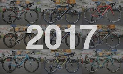 De fietsen van de WorldTour 2017