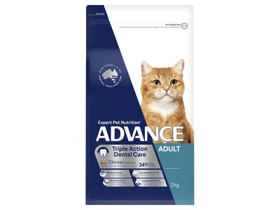 Advance Cat Adult Dental Chicken 2Kg