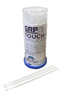 Touch Up Tips WHITE 1.0mm Paint Micro Brush - 100 Per Dispenser