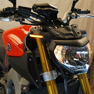 New Rage Cycles LED Front Turn Signal Kit To Suit Yamaha MT-09/FZ-09 2014 - 2016