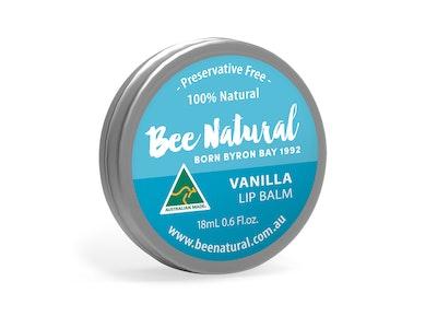Bee Natural Vanilla LIP BALM 18mL