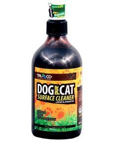 Trueeco 500ml Concentrate DOG AND CAT SURFACE CLEANER (CREATES 10 LITRES READY2USE)