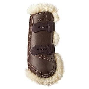 Sheepskin Leather Tendon Elastic Boots