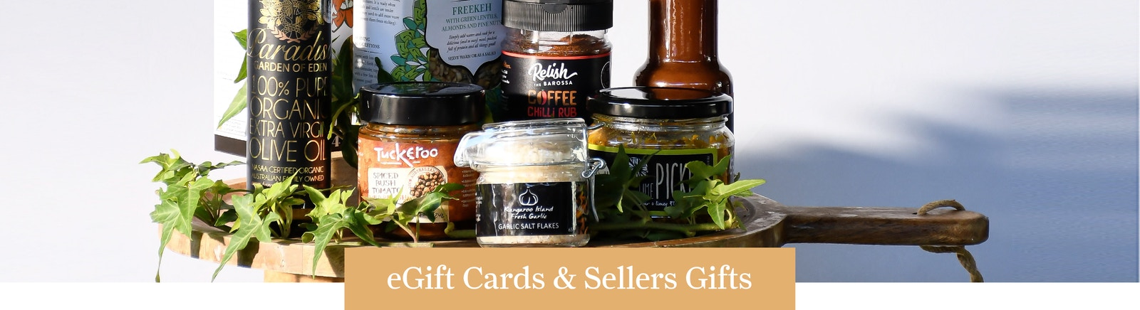 Gift Cards and Vouchers Banner