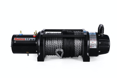 Runva 11XP PREMIUM 24V with Synthetic Rope - full
