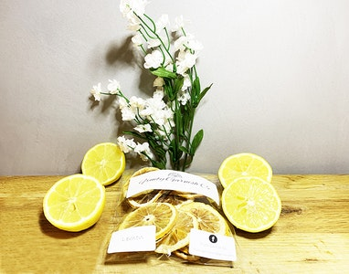 Fruity Garnish Co Dehydrated Lemons