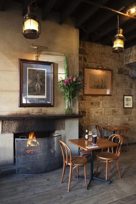 Lord Nelson Fireplace