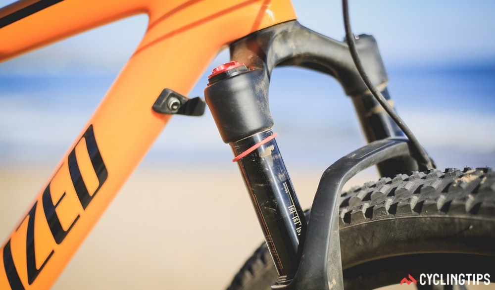 Specialized Epic Hardtail 2017 bumper fork