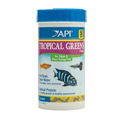 API Tropical Greens Flakes 60G