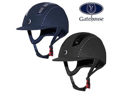 Gatehouse Chelsea Air Flow Pro Suedette Crystal Helmet