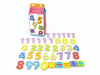 Kaper Kidz MILK CARTON MAGNETIC NUMBER