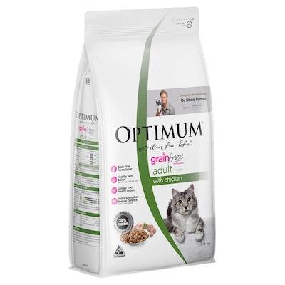 Optimum Grain Free Adult Chicken Dry Cat Food