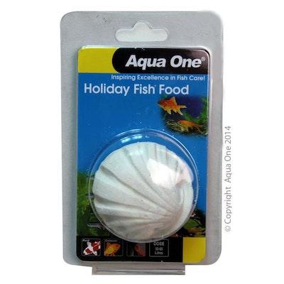 Aqua One Block Holiday Fish Food 40g