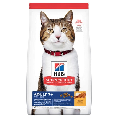 Hills Hill's Science Diet 7+ Adult Dry Cat Food