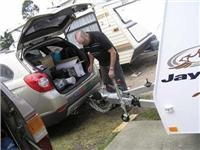 Jayco Discovery sheds  its Hayman Reese WDH as GoSee sets up camp