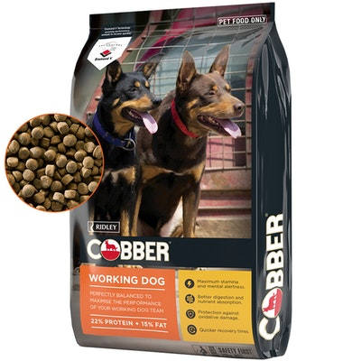 Ridley Cobber Working Dog Active Performance Dry Dog Food 20kg