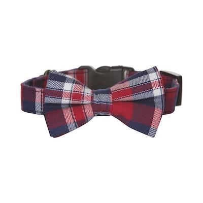 Hamish McBeth Bow Tie Dog Collar - Tartan