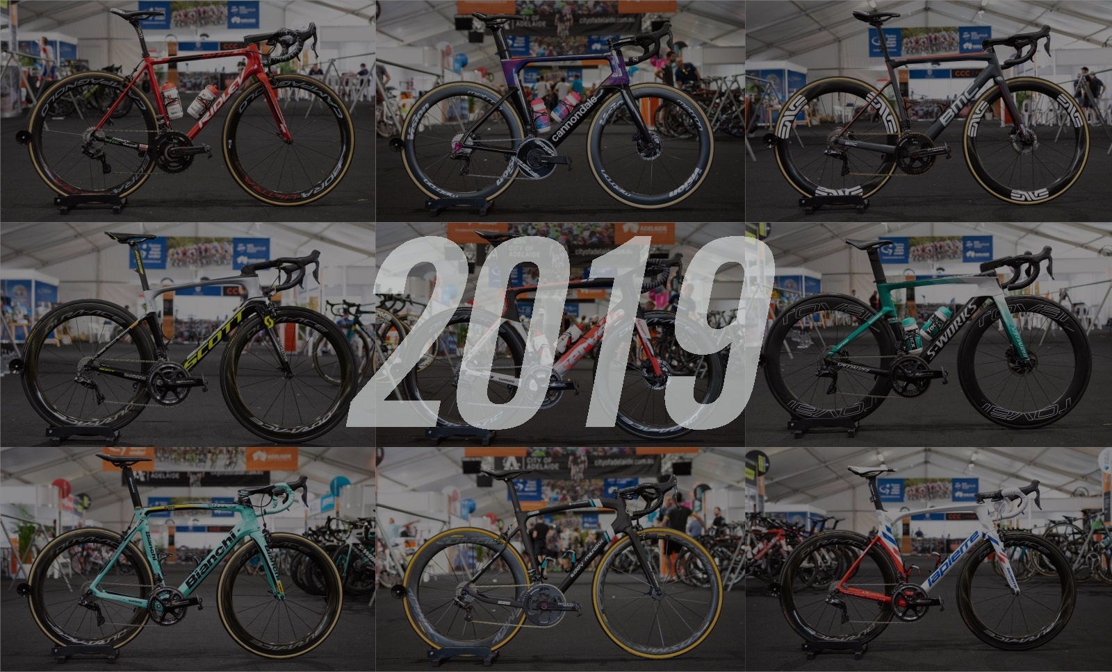 Pro Bikes of the 2019 WorldTour