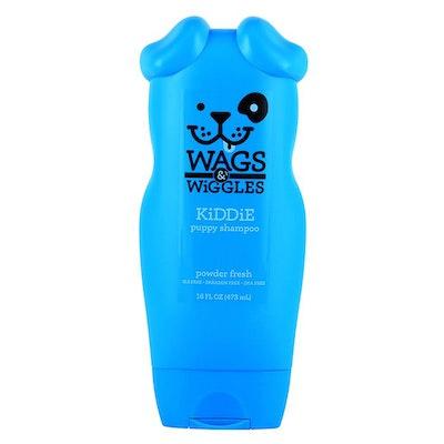 Wags & Wiggles Kiddie Puppy Grooming Shampoo Powder Fresh 473ml