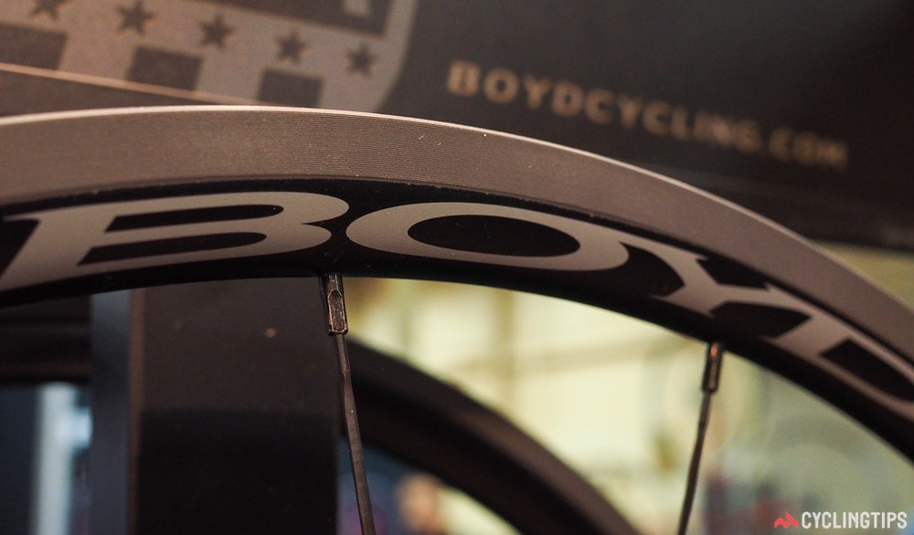 Boyd Cycling keronite plasma electrolytic coating InterBike 2016 CyclingTips 43081