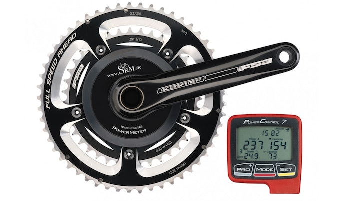 Bicycle Power Meters : Power meter cranks