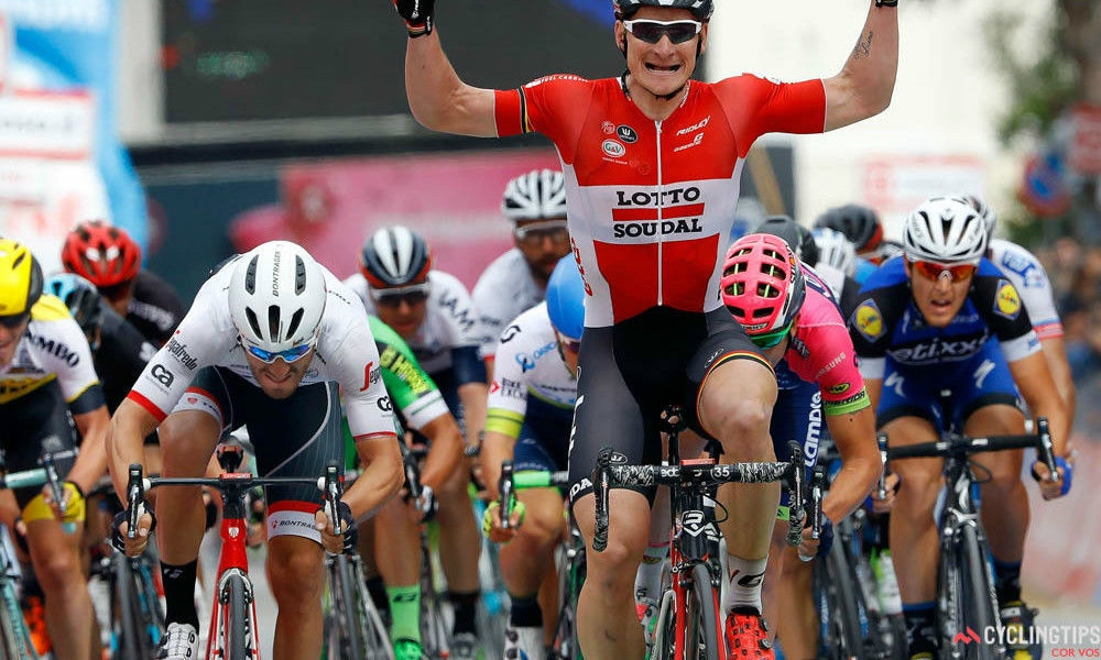 Three in a Row for Lotto Soudal at The Giro d'Italia