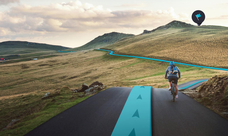 Smarte Routen für smarte Bikes
