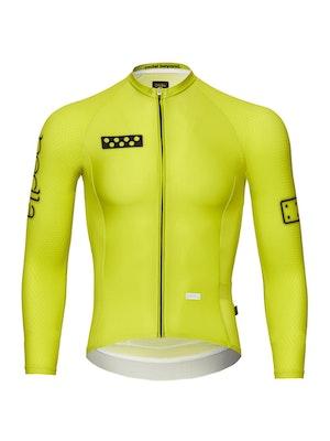 Pedla BOLD / LunaPRISM L/S Jersey - Neon Yellow