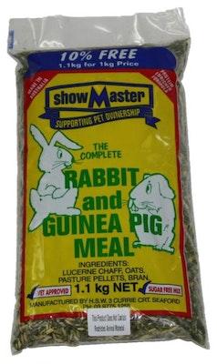 Showmaster Rabbit & Guinea Pig Meal 1kg