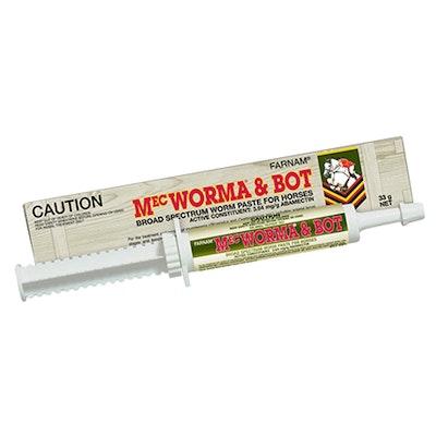 International Animal Health Mecworma & Bot Wormer Paste 33g