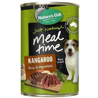 NATURES GIFT Kangaroo & Rice Dog Food 12 x 700g