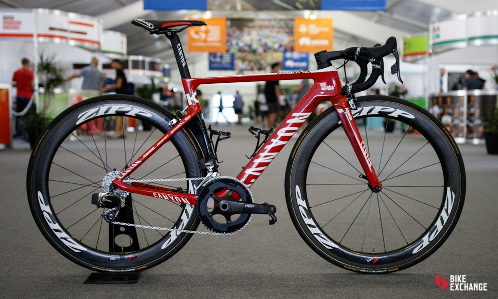 bikes of the 2017 worldtour katusha canyon alpecin ultimate