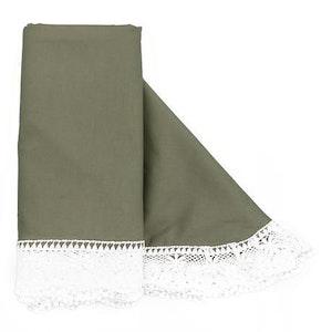 Cotton Blanket - Olive