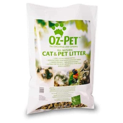 Oz-Pet All Natural Cat & Pet Litter - 15kg