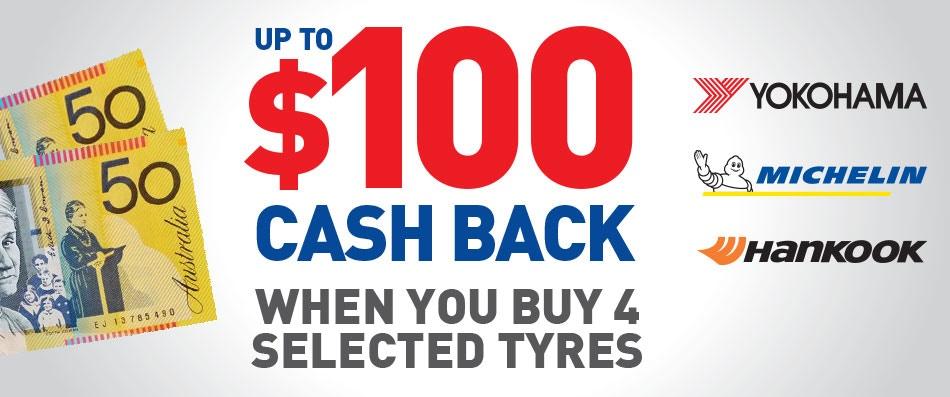Bob Jane T-Marts Cash Back promotion