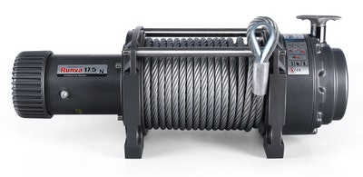 Runva EWN17500 12V with Steel Cable