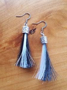 Rainbow Reins Tassel Earrings