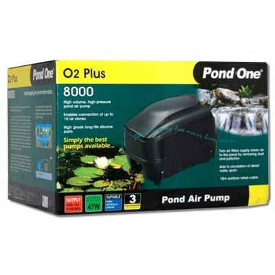 Pond One O2plus 8000 Air Pump 93066