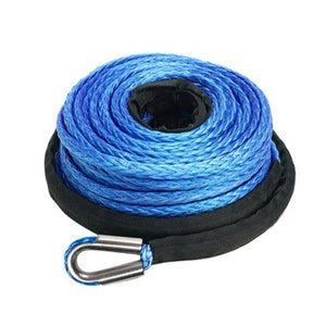 10Mm X 30M Synthetic Winch Rope Dyneema Tow Recovery Cable Car Boat