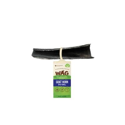 WAG Split Goat Horn Dog Treat