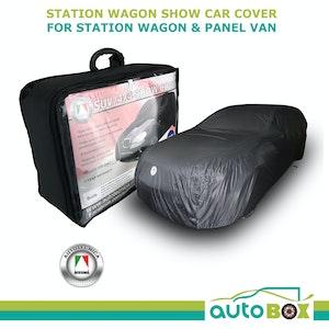 Autotecnica Station Wagon Panel Van Show Car Cover Black Softline Indoor Dust
