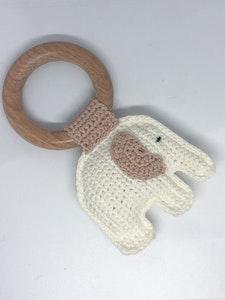 Elephant Teether Ring